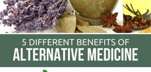 5 Different Benefits of Alternative Medicine